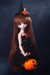 Mara's Halloween 1 (rensuchan) Tags: arle arlenadja d500 halloween mdd witch abjd bjd doll dollfie dollfiedream nikon アルル