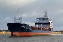 Kertu Blyth 051117 (silvermop) Tags: ship boats ships sea cargovessels port river blyth kertu