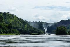 Murchison Falls Anfahrt (Vitatrix) Tags: wasser uganda wasserfall nil
