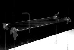 York Street (Delay Tactics) Tags: sheffield dusty shelf remains wire glass 7 film black white bw seven empty shop