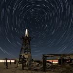 Star Trails At The Salton Sea Alien Portal thumbnail