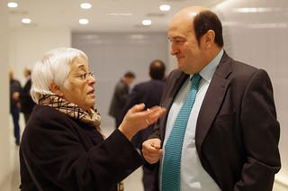 Toti Martinez de Lezea and Andoni Ortuzar