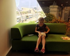 Brisbane City Library. Our happy place.