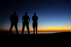 three friends are enough (Alberto Va) Tags: galicia galiciacalidade discoveringgalicia galicianature sunset sunsetcolours magichour monteopindo coast sea mountains costadamorte