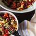 Mexican Salad with corn, pepper and bean