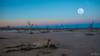 Bad Moon Rising DSC_0374 (BlueberryAsh) Tags: swamp sunset swanhill fullmoon towanplainsconservationreserve nightscape deadtrees landscape nikond750 sky dusk cloudsstormssunsetssunrises moonrising sand