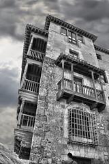 Imagen1 (Rabadán Fotho) Tags: torre bn spain españa casas colgadas blancoynegro blackandwhite
