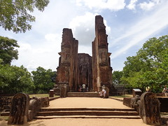 "Lankathilaka Vihara - Ancient City of Polonnaruwa • <a style=""font-size:0.8em;"" href=""http://www.flickr.com/photos/152010771@N04/37083938453/"" target=""_blank"">View on Flickr</a>"