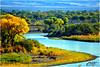AUTUMN'S SOUNDS (Aspenbreeze) Tags: coloradoriver river autumn fallseason seasons windingriver trees nature rural fence sky coloradolandscape landscape bevzuerlein aspenbreeze moonandbackphotography
