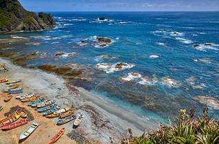 Paisaje marino - Caleta Punta Estaquilla (Patagonia - Chile)