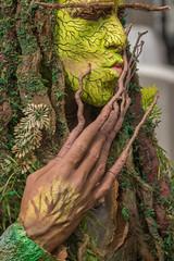2017WLS-65 (stevefge) Tags: 2017 arnhem livingstatues worldlivingstatues candid people performers schmink green woody street men nederland netherlands nl nederlandvandaag gelderland