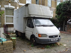 1997 Ford Transit 190 LWB Diesel (Neil's classics) Tags: vehicle van removal abandoned 1997 ford transit