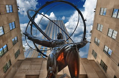 Statue of Atlas (PhotoArt Images) Tags: usa nyc newyorkcity statueofatlas photoartimages buildings architecture 1936