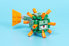 21136 Minecraft Ocean Monument - P1020765 - Guardian Front (Brickset) Tags: lego minecraft 2017