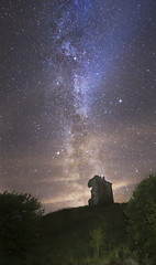 Red Castle Lunan Bay (adamcaird) Tags: milkyway canon canon6d samyang scotland angus nature nightime natural natgeo ngc outdoors colourful stars astrophotography astronomy