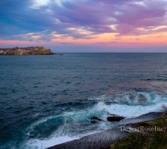 Colourful Sunsets (1DesertRose) Tags: icon travel xt20 fujifilm lovely pretty life australia nsw sydney bondi bright clouds settingsun spring scene landscape walk sea water ocean beach sunset color colourful colours colorful