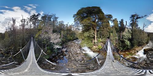 Swing Brindge over the Meander River
