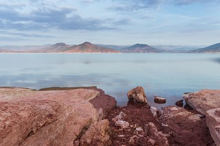 The Lake of Salagou