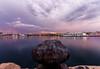 Sunset at Valencia Port (ivansanramon) Tags: sunset canon landscape sunrise valencia colour colours color colors