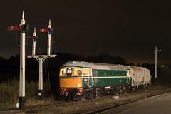 D6501 Swanwick Junction (Steveo46240) Tags: d6501 33 crompton mrc emrps swanwickjunction night freight