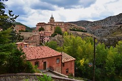 La Vie en Rose (Jocelyn777) Tags: pink rosetinted villages houses historictowns albarracin aragon spain travel worldtrekker