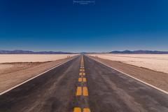 Road to somewhere (Mariano Colombotto) Tags: road route ruta symmetric plain sky cielo nikon travel viaje infinitexposure autofocus ngc jujuy argentina salinasgrandes photographer photography ruby10 ruby15