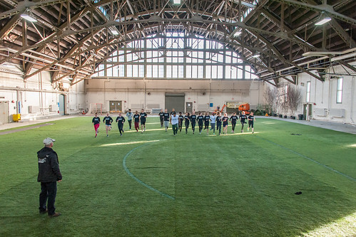 Armory at Sage Drillshed Athletic Practice Turf