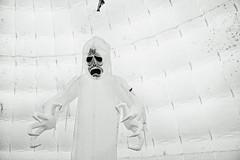Friendly Ghost (jauza1) Tags: bw blackandwhite noireblanc ghost halloween