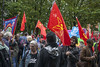 ToryConfManc17 0027 (Communist Party of Great Britain(Marxist-Leninist)) Tags: austerityprotesttoryconference 1stoct2017 manchester toryconference cpgbml lalkar proletarian greenfell housingcrisis tradeunionbill postalworkers cwu rmt pcs nut gmb disabledactivists dpac police crisisofoverproduction rulingclass nhs hri tradeunions theresamay tory labour corbyn peoplesassembly economics eu brexit socialist communist families students workers campaigners capitalism refugees welfare