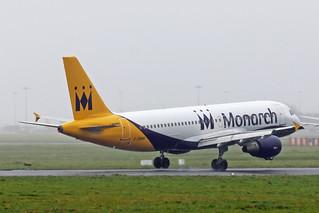 A320-214 G-ZBAR MONARCH (ex)