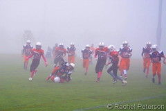 October 14, 2017 - A foggy football game at Trailwinds Park.  (Rachel Peterson)
