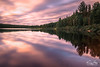 Lac Toussignant at Réserve faunique de Saint-Maurice, Quebec (kenji atse) Tags: aet beautiful trip vacation camp camping relaxing peacefulmoment réservefaunique morning remotecontrol nd64 ndfilter tripod summer2017 hot warmcolours 1020mm sigma canon lingueexposition lac sky cloudy sunrise longexposure paysage landscape quebec canada