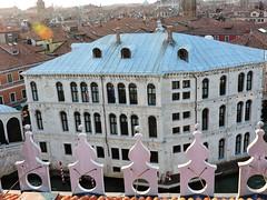 Palazzo dei Camerlenghi seen from Fondaco dei Tedeschi, Venice