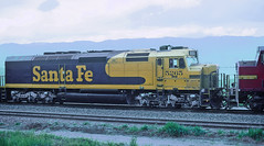 AT&SF SDP40F 5265, ex-AMTK 649, Bealville, CA on March 1, 1995 (railfan 44) Tags: santafe atsf