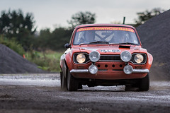 Ford Escort Mk1 (deltic17) Tags: haroldpalin fulbeck fulbeckrally dukeries motorsport cars rally classic historic ford escort mk1 canon hll61k foresttowncarsales petespantry spotlights ww2 raf airfield raffulbeck prime