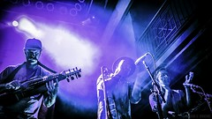 Broken Social Scene, 9:30 Club, Washington, D.C., 9/19/17 (RedTessFreelance) Tags: brokensocialscene 930club washingtondc instruments saxophone trumpet musicians band clapping