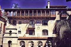MISSION INN HOTEL AND SPA and Museum  - Riverside  California (Onasill ~ Bill Badzo) Tags: mission inn hotel spa museum riverside ca california railroad huntington palm trees tourism tours walking interior missionrevival architecture style onasill nrhp travel holiday vacation historic historical gardens bb hotspot dorm apartments private friends landmark restoration business attractionsite usa america tree building road sudial balcony flower