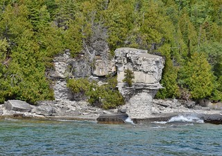 Flower Pot Island, Fathom Five National Marine Park, Bruce Anchor Cruise, Tobermory, ON
