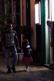 Passeggio con papà
