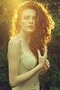 Magdalena (lucrecia lee) Tags: sensual stylish subtle seductive sexy summer sunlight sunshine sunny sun sunset woman youngwoman portrait pretty light longdress daydreaming dreamy delicate redhead redhair colourful curlyhair charming curls amazing beauty beautiful model park bra