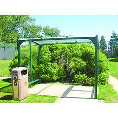 Cycle-racks.com-Supreme-Smoking-Shelter
