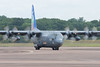 """Lockheed C-130E Hercules Pakistani Air Force 66-4312 / 153 from 21 Sqn in special """"First in Last Out"""" livery arrives at RAF Fairford for RIAT 2017 on Wednesday 12th July (DaveMorgan1975) Tags: lockheed c130e hercules pakistaniairforce 664312153 21sqn firstinlastout livery riat2017 raffairford"""