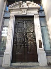 Boston - Stuart Street, Salada Tea doors (4)