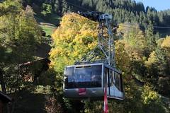 Luftseilbahn zwischen Mürren und Gimmelwald in den Berner Alpen - Alps im Berner Oberland im Kanton Bern der Schweiz (chrchr_75) Tags: christoph hurni schweiz suisse switzerland svizzera suissa swiss chrchr chrchr75 chrigu chriguhurni chriguhurnibluemailch oktober2017 oktober 2017 albumzzz201710oktober luftseilbahn cableway téléphérique funivia 索道 kabelbaan taubanen kolejka linowa teleférico sveitsi sviss スイス zwitserland sveits szwajcaria suíça suiza