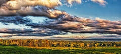 IMG_4668-70cPtzl1scTBbLGERi (ultravivid imaging) Tags: ultravividimaging ultra vivid imaging ultravivid colorful canon canon5dmk2 clouds sunsetclouds scenic vista fields farm autumn lateafternoon pennsylvania pa rural evening countryscene panoramic sky landscape