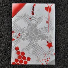 When life gives you lemons (red) (id-iom) Tags: aerosolpaint armour art arts blue brixton cool england idiom lemons london paint print red screen screenprinting screenprint spray spraypaint stencil uk urban yellow
