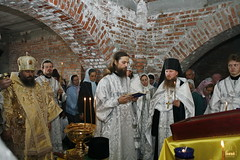 16. Первая литургия в с. Адамовка