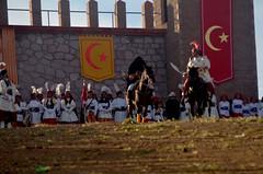 DSC_0288 (xavo_rob) Tags: xavorob morisma morismadebracho bracho zacatecas zuavos cristianos castillo caballo cielo gente airelibre medialuna