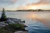 Exploring Algonquin Park (Neil Cornwall) Tags: 2017 algonquin canada macintoshlake ontario september camping canoeing mancamp