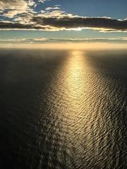 mare nostrum (ragabcn) Tags: catalunya catalonia flightviews sunrise mediterranian mediterrania marenostrum sea